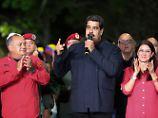Opposition erkennt Sieg nicht an: Maduro gewinnt Regionalwahlen in Venezuela