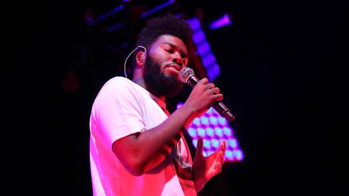 Khalid spielt im Vorprogramm von Lorde.