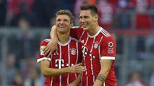 Sie siegen, sie haben Spaß - die Bayern sind vorerst zurück. Aber Obacht: Es war nur Freiburg. Das wissen auch Niklas Süle und Thomas Müller.