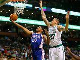 Neue deutsche Welle: Rookie Theis schielt auf NBA-Titel