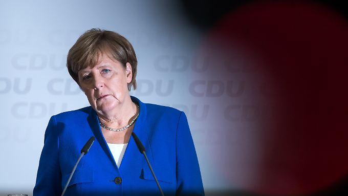 """""""Ich fühle mich gerade durch den Wahlkampf, den auch Kurz gemacht hat in Österreich, bestätigt, dass wir neue Wege gehen müssen"""", sagt Merkel."""