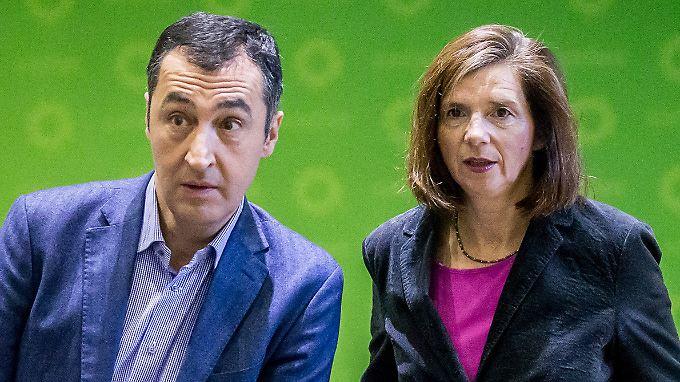 Mit Cem Özdemir und Katrin Göring-Eckardt als Spitzenkandidaten gingen die Grünen in die Bundestagswahl.