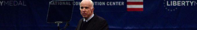 Der Tag: 17:07 McCain rechnet mit Trumps Kurs und Weltsicht ab