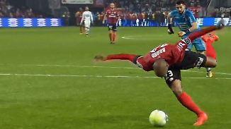 Slapstick in französischer Ligue 1: Ex-Hannoveraner verstolpert Mega-Chance