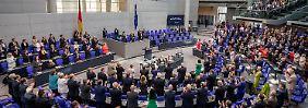 Kampf um Bundestagspräsidium: Union versagt SPD zweiten Vizepräsidenten