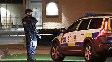 Bandenkriminalität vermutet: Explosion vor Polizeiwache in Helsingborg