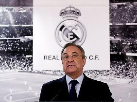 Florentino Perez will mit Real Madrid auch weiterhin gegen den FC Barcelona antreten.