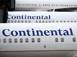 Nummer 3 durcheinandergewirbelt: United Continental meldet Gewinneinbruch