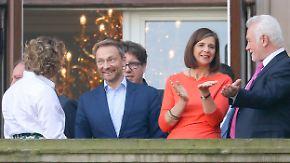 """Mehr Feuer bei den """"Kleinen"""": FDP und Grüne gehen auf Tuchfühlung"""