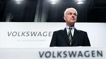 Volkswagen-Chef Matthias Müller stört der Vergleich mit Tesla.