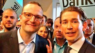 Weist die ÖVP der CDU den Weg?: Kurz ist gelungen, wovon Spahn träumt
