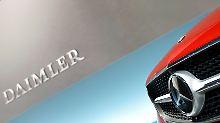 Trotz Umsatzplus beim Autobauer: Sonderkosten lasten auf Daimler-Gewinn