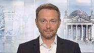 """Christian Lindner zu Jamaika: """"Ob trennende Fragen überbrückt werden können, ist offen"""""""