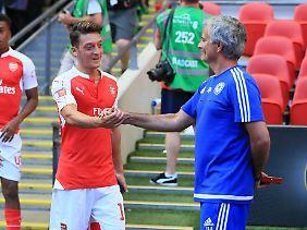 Mesut Özil spielte von 2010 bis 2013 unter José Mourinho für Real Madrid.