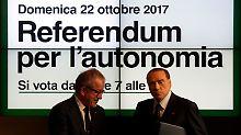 Autonomie-Referenden in Italien: Los von Rom – aber nicht wirklich