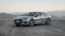 Beim Design des neuen Audi A7 setzt Designchef Lichte auf fließende Linien.