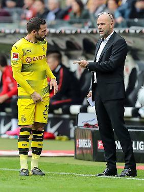 Es zwickt im Dortmunder Spiel.