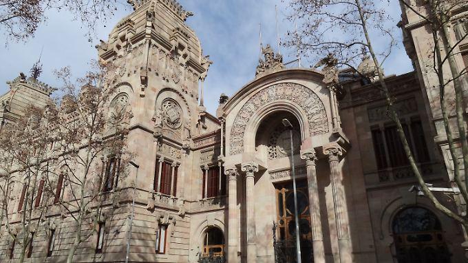 Der Justizpalast in Barcelona: Er wurde mit Steinen vom Montjuïc gebaut.