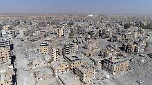 Befreiung aus den Händen des IS: Moskau vergleicht Rakka mit Dresden 1945