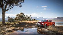 Die Mercedes X-Klasse soll Arbeitstier und Lifestyle-Laster zugleich sein.