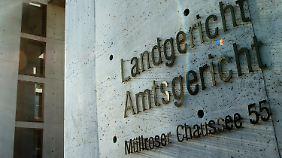 Eingang des Landgerichts in Frankfurt an der Oder