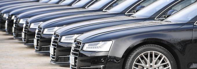 Die teuersten Firmenwagen kommen im Großhandel zum Einsatz.