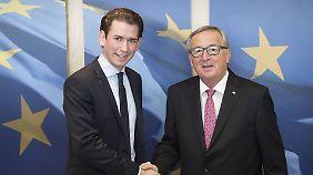 Flüchtlingsstreit in Europa: Wie positioniert sich Österreich unter Kurz?