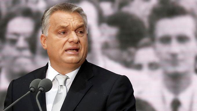 "Erklärt Ost-Mitteleuropa zur ""migrantenfreien Zone"": Ungarns Ministerpräsident Viktor Orban."