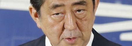 Deutlicher Wahlsieg in Japan: Abe verschärft Ton gegen Nordkorea
