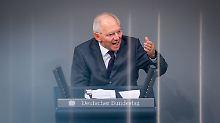 Person der Woche: Wolfgang Schäuble - der Schattenkanzler