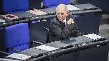 """""""Ich freue mich"""": Schäuble ist jetzt Daddy Cool"""