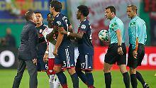 Der Sport-Tag: Rangnick droht Strafe wegen absurdem Videobeweis