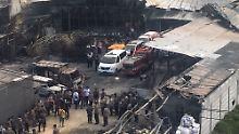 Explosion in Indonesien: 47 Arbeiter sterben in Feuerwerksfabrik