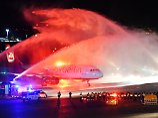 Ende einer Ära: Letzter Air-Berlin-Flieger landet in Tegel