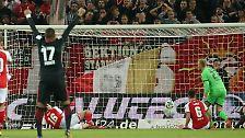 FSV Mainz - Eintracht Frankfurt 1:1 (0:1)