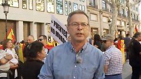 """Dirk Emmerich vor Ort in Barcelona: """"Mehrheit der Katalanen will Einheit Spaniens"""""""