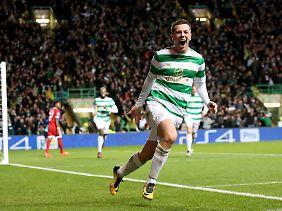 Callum McGregor schenkte den Celtic-Fans drei Minuten Hoffnung auf eine Sensation.