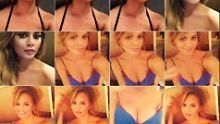 Endlich Brust-Bilder!: Chrissy Teigen präsentiert iPhone-Trick
