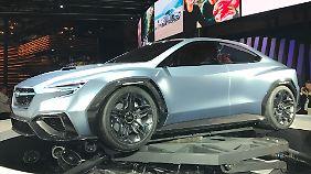 Subaru zeigt die Studie VIZIV Performance Concept.