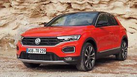 Kompakt-SUV drängt auf den Weltmarkt: VW setzt mit T-Roc Maßstäbe einer neuen Generation
