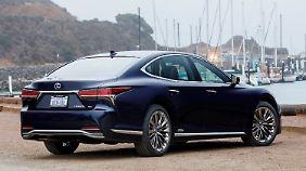 Optisch war der Lexus LS schon immer eine Herausforderung.