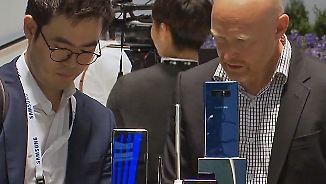 Kampf der Smartphone-Giganten: Nicht nur das neue iPhone X hat viel zu bieten
