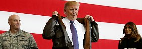 """US-Präsident in Japan: Trump versteht """"Land von Samurais"""" nicht"""