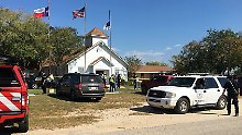Blutbad in Texas: Junger Mann tötet 26 Kirchenbesucher