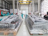 Noch im Bau: die Halle, in der die Ariane 6 produziert werden soll. Elf Raketen pro Jahr sind das Ziel.