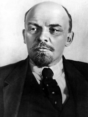 Keine Zusammenarbeit mit der Provisorischen Regierung: Wladimir Iljitsch Lenin.