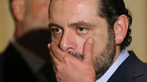 Nach Hariris Rücktritt: Saudi-Arabien sieht sich mit dem Libanon im Krieg