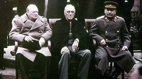 Churchill, Roosevelt, Stalin. Alle drei starben an den Folgen von Bluthochdruck.