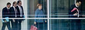 Merkel drückt jetzt aufs Tempo: Sondierung soll bis Freitag fast fertig sein