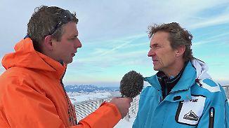 """Günther Brennsteiner im n-tv Interview: In den Alpen ist der """"Gletscherrückgang markant"""""""